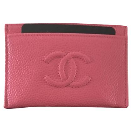 Chanel Chanel Rosa portacarte