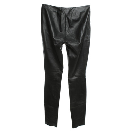 Jimmy Choo for H&M Leggings en cuir noir