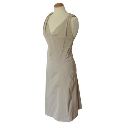 Jil Sander Midi-Kleid mit Raffungen