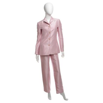 Versace Hosenanzug in Rosé-Pink