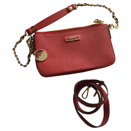 Donna Karan Small red handbag