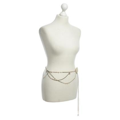 Chanel Gürtel mit Perlen