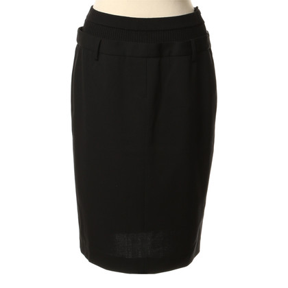 Jean Paul Gaultier skirt with knit wrist
