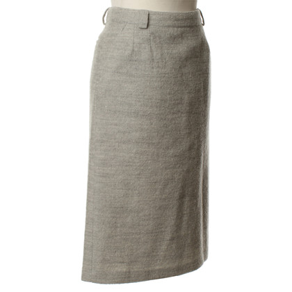 Paul & Joe Grey wool skirt
