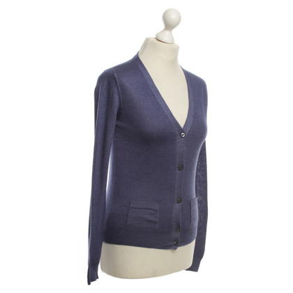Prada Cardigan in Violett