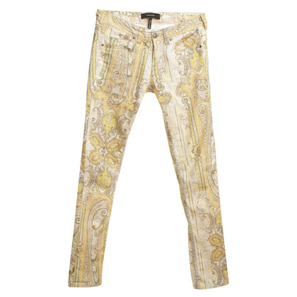 Isabel Marant Cotton pants with pattern print