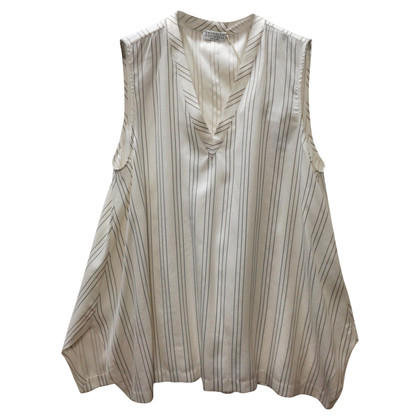 Brunello Cucinelli silk blouse