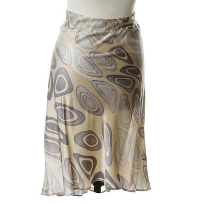 Roberto Cavalli Silk skirt pattern