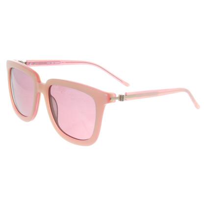 Bruuns Bazaar Lunettes de soleil en rose