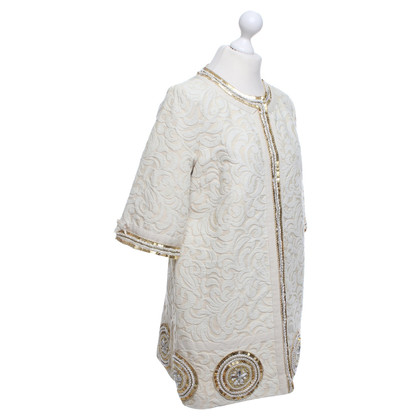 Manoush Coat in cream white