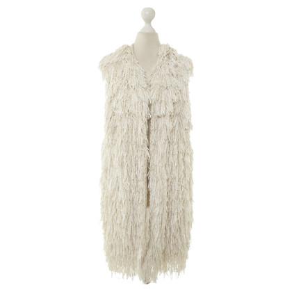 Isabel Marant Fringe vest in cream