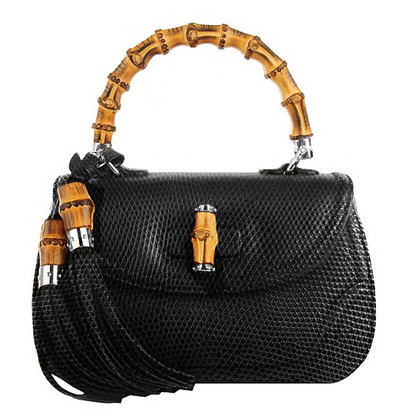 """Gucci """"Bamboo bag"""" made of Python leather"""