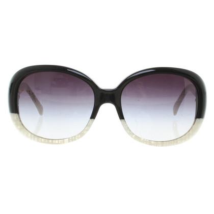 Chanel Sunglasses in black / white