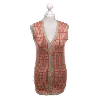 Prada Knitted vest with pattern