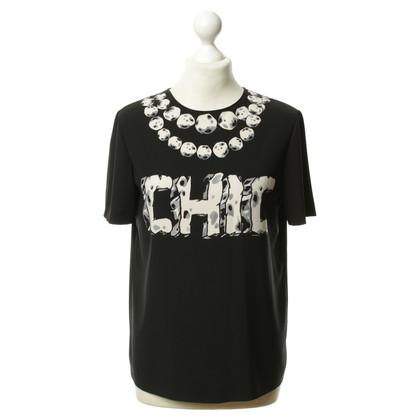 Moschino Cheap and Chic Shirt in Schwarz