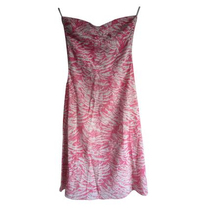 Zimmermann Strapless zijden jurk