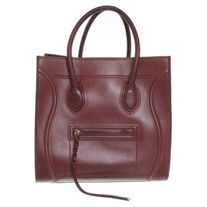 "Céline ""Phantom Bagage Bag"" in Bruin"