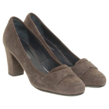 Navyboot L ' autre chose - pumps in suede in colori naturali