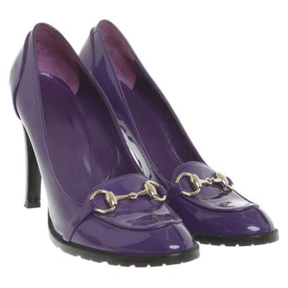 Gucci pumps in Violet