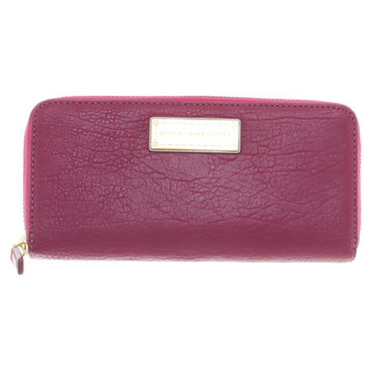Marc by Marc Jacobs Portemonnaie in Fuchsia