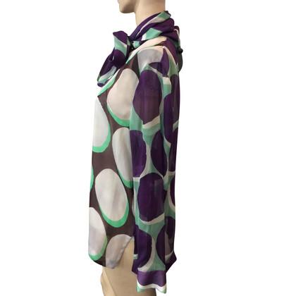 Diane von Furstenberg camicetta di seta