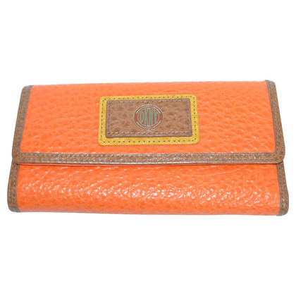 Donna Karan Geld tas in oranje