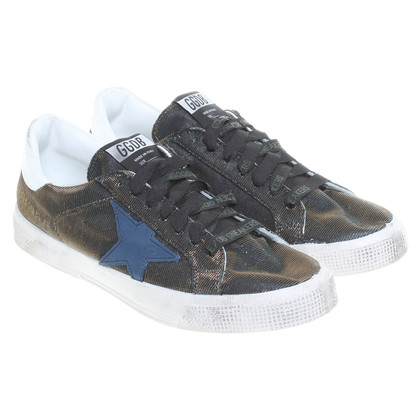 Golden Goose Sneakers mit Stern-Applikation