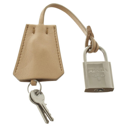 Prada Bronze colored Clochette