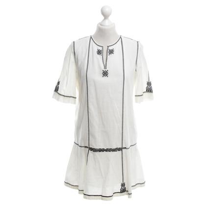 Isabel Marant Etoile Tuniek jurk met borduurwerk