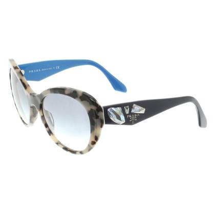 Prada Sunglasses with pattern