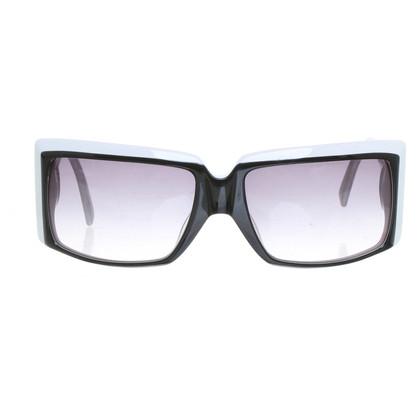 Ferre Sonnenbrille in Schwarz/Weiß