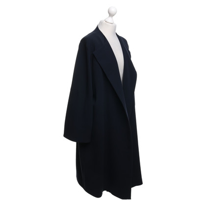 Marina Rinaldi Coat in donkerblauw