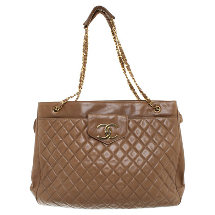 Chanel Shopper in Beige