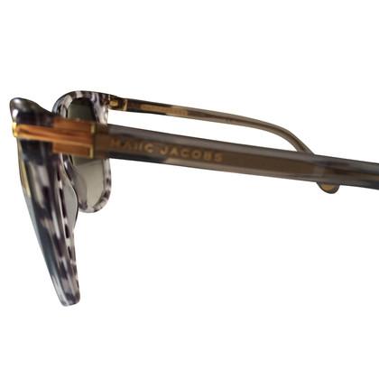 Marc Jacobs Gespikkeld grijs zonnebril