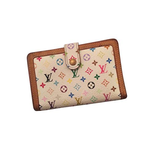 035a844011bc Louis Vuitton Portemonnaie Monogramm weiß - Second Hand Louis ...
