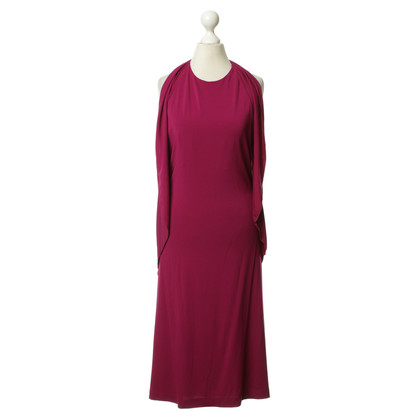 Philosophy di Alberta Ferretti Neckholder dress in Fuchsia