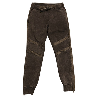 Liebeskind Berlin trousers with leather inserts