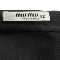 Miu Miu skirt in black
