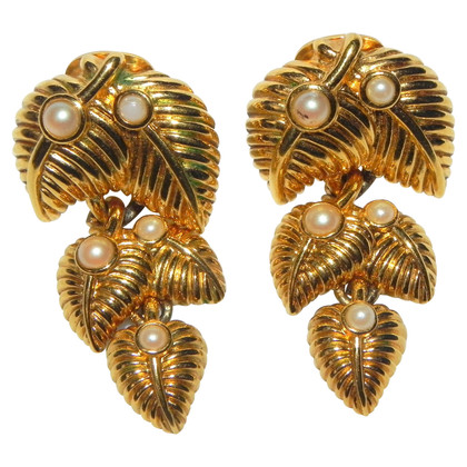Lanvin Vintage clip earrings
