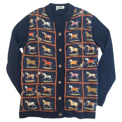 Hermès Vintage wool knit jacket