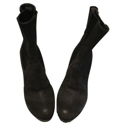 Prada stivali di camoscio