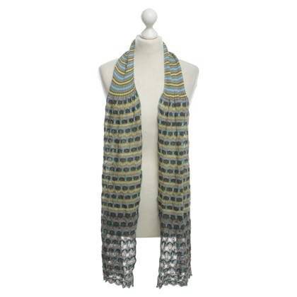 Missoni Waves-knit scarf