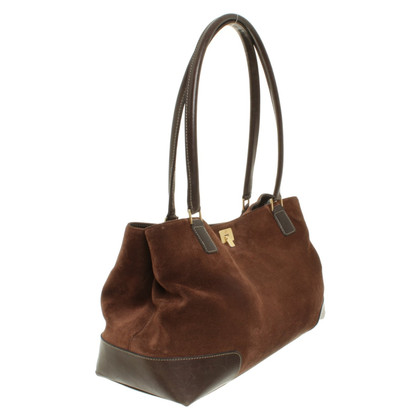 Bogner Shopper en marron