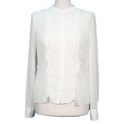 Karen Millen White silk blouse