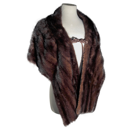 Other Designer Brown mink stoles