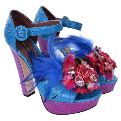 Dolce & Gabbana Sandalen met broche