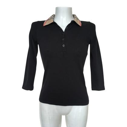Burberry Polo-Shirt in Schwarz