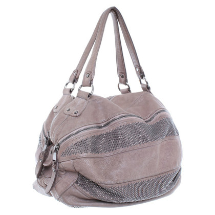 Giorgio Brato Taupe leather bag