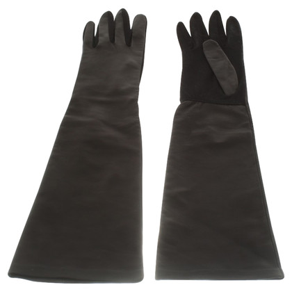 Sport Max lederen handschoenen