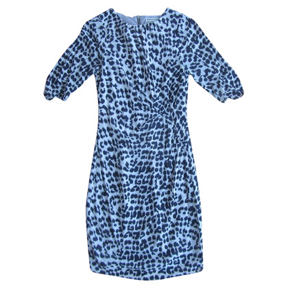 Whistles Dress with leopard print